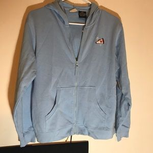 NEW ARIZONA JEAN CO BLUE  HOODIE  14 1/2 - 16 1/2